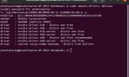 如何在终端中的Ubuntu上安装Nvidia驱动程序