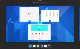 GNOME 40 Linux桌面环境在这里