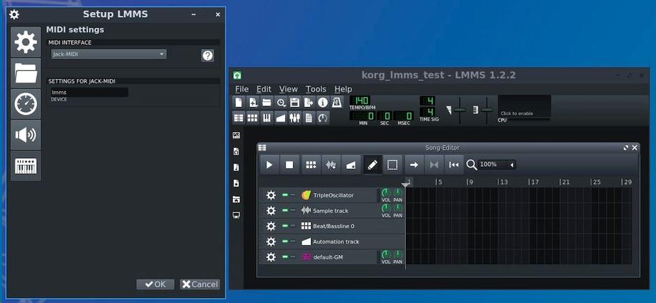 如何将Linux DAW与USB连接的MIDI键盘一起使用