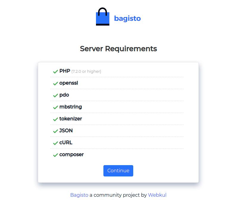 bagisto-web-interface